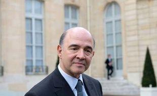 """Le gouvernement qui attend prochainement un rapport sur l'épargne longue destiné à préparer une réforme, n'a pas l'intention d'""""écorner"""" l'assurance-vie, a assuré jeudi le ministre de l'Economie Pierre Moscovici."""