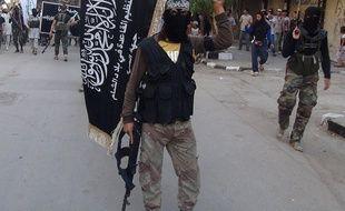 Des combattants de la branche syrienne d'Al-Qaida, en juillet 2014 (Illustration).