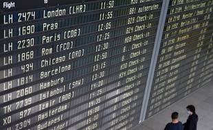L'aéroport de Munich, en Allemagne, le 18 juin 2020.