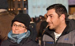 Ezster est venue spécialment de Hongrie, voir la Fête des Lumières de Lyon.