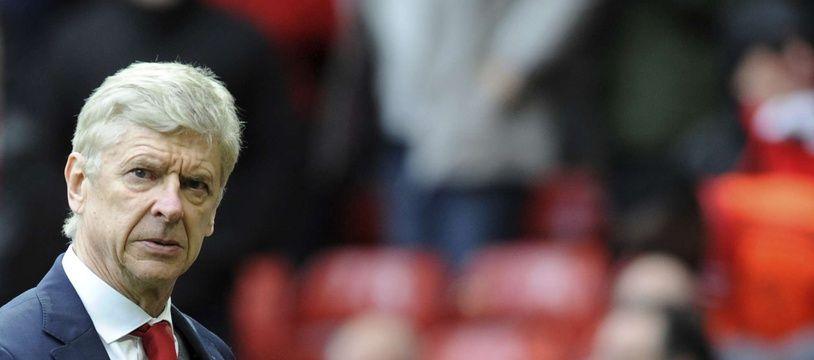 Arsène Wenger, encore sur le banc d'Arsenal, le 29 avril 2018.