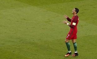 Ronaldo lors de Portugal-Autriche, le 18 juin 2016 au Parc des Princes.