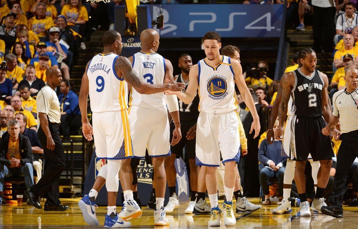Les Warriors lors des finales NBA – Noah Graham / NBAE / Getty Images / AFP