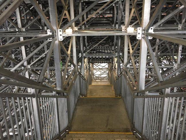 L'escalier pour y arriver