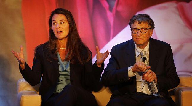 Bill et Melinda Gates à New Delhi en Inde, le 18 septembre 2014. –  Manish Swarup/AP/SIPA