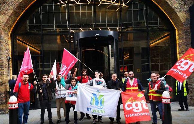 Bordeaux: Un coursier bordelais à Londres pour livrer ses revendications à Deliveroo