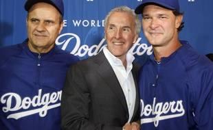 Le nouveau propriétaire de l'OM, Frank McCourt, ici en 2011 quand il était le patron des Dodgers.