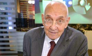 Max Gallo, historien et académicien en 2014.