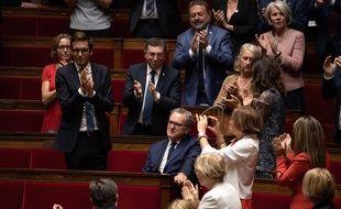 Richard Ferrand à la session inaugurale de l'Assemblée, le 12 septembre 2018.