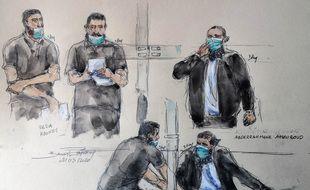 Les six accusés sont jugés depuis lundi par la cour d'assises spéciale