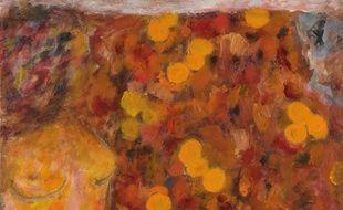 Nu orange, une huile sur toile peinte par Bonnard a priori en 1943