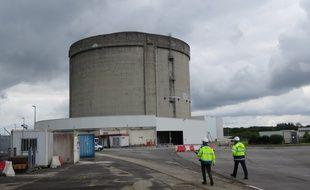 L'enceinte réacteur de la centrale nucléaire de Brennilis, dans le Finistère.