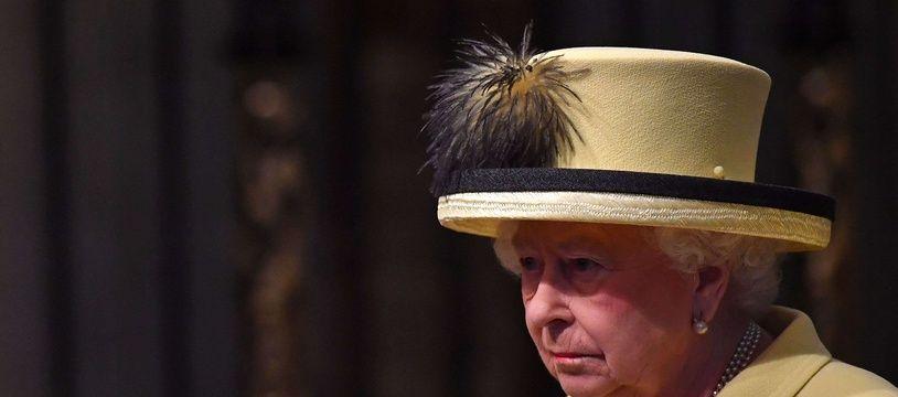 La reine d'Angleterre, le 13 mars 2017, à Londres.