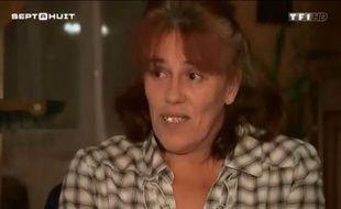 Capture de l'émission «Sept à Huit» sur TF1 au cours de laquelle Rosa, la mère de Serena, a témoigné en 2013.