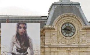 Les pubs sur les bâches (ici, le musée d'Orsay) pourraient être compromises.