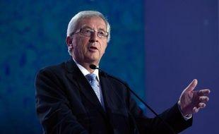 Jean-Claude Juncker du Parti populaire européen (PPE), le 25 mai 2014 à Bruxelles
