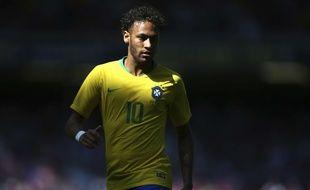 Neymar a rejoué avec le Brésil