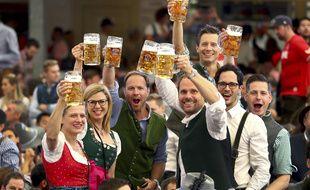L'Oktoberfest de Munich, ne pourra pas se tenir en septembre 2021 en raison de la pandémie de coronavirus. (Illustration)