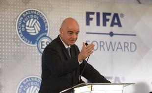 Gianni Infantino, le président de la Fifa, le 20 novembre 2019.