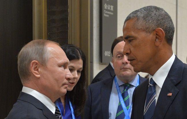 Barack Obama et Vladimir Poutine le 5 septembre 2016.