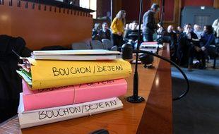 Au premier jour de l'audience du procès du meurtrier présumé de Patricia Bouchon, à Toulouse.