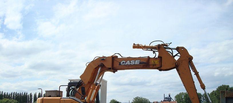 Un engin de chantier (photo d'illustration).