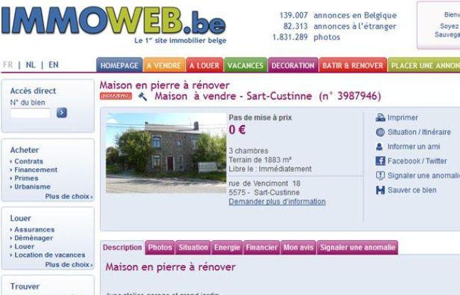 Belgique la maison du couple fourniret sart custinne est vendre - Vente viager libre belgique ...