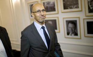 """Harlem Désir, numéro 2 du Parti socialiste, a jugé jeudi que le sommet de l'Elysée la veille était un """"sommet faussement social pour dissimuler la vraie TVA scandale""""."""