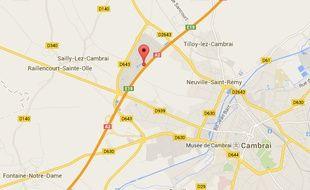 La commune de Raillencourt Saint-Olle, près de Cambrai.