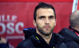 Julien Sablé a vécu son premier match d'entraîneur vendredi à Lille.