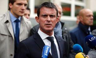 Le Premier ministre Manuel Valls / T.Samson/AFP