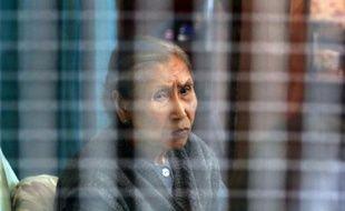 Thi Lua Fanton, 87 ans, photographiée le 29 avril 2014, habite dans le même baraquement de Sainte-Livrade-sur-Lot depuis qu'elle a été rapatriée d'Indochine en 1956