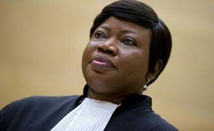 La procureure de la Cour pénale internationale, Fatou Bensouda, le 18 novembre 2015 à La Haye
