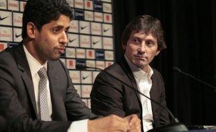 """""""Nous serons toujours à la recherche du nouveau Messi"""", a confié à l'AFP Nasser Al-Khelaifi, nouveau président directeur général du Paris SG et représentant de QSI, fonds d'investissement du Qatar propriétaire du club."""