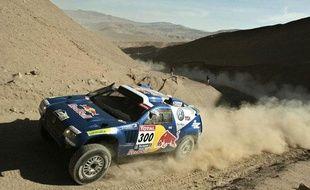 Un taureau dans le désert, c'est aussi cela la magie du Dakar...
