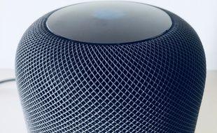 L'enceinte HomePod d'Apple est vendue 349 euros.
