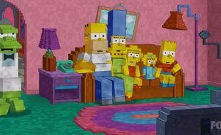 Le générique des «Simpson» rend hommage à «Minecraft».