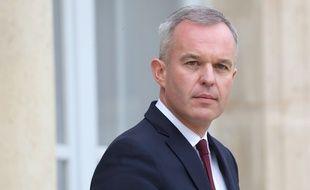 François de Rugy quitte l'Elysée le 5 décembre 2018.