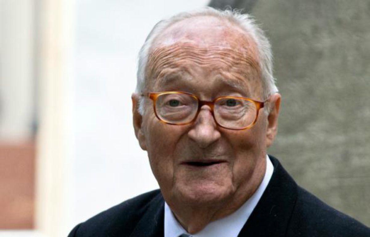 L'écrivain et académicien Alain Decaux, le 3 juin 2013 à Paris – JOEL SAGET AFP