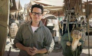 Le réalisateur J. J. Abrams sur le tournage de «Star Wars 7» en mai 2014.