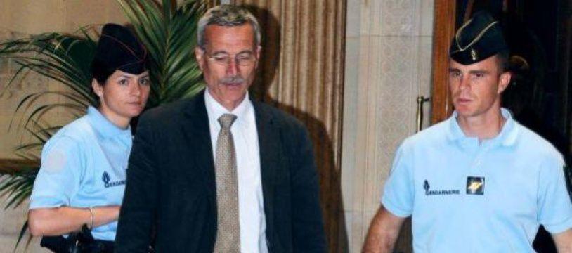 Le juge Renaud van Ruymbeke arrive au tribunal de Paris, le 16 mai 2011.