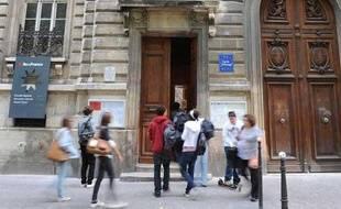 Illustration d'un lycée parisien.