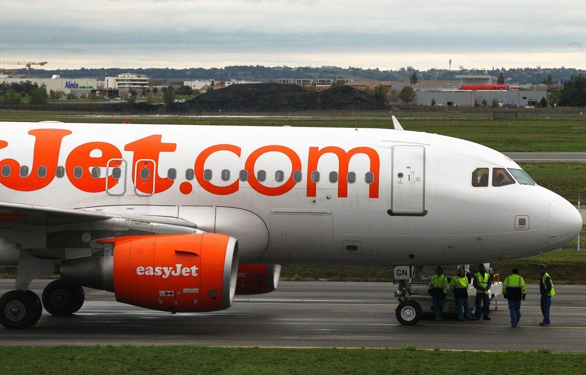 Un avion de la compagnie low-cost Easyjet. – FRED SCHEIBER