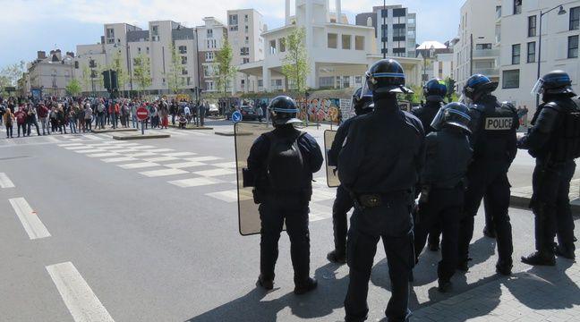 Rennes: Les policiers agressés lors de la manifestation