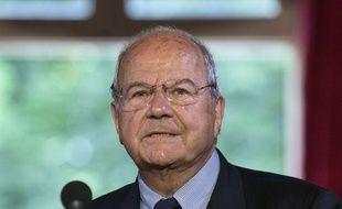 Marc Ladreit de Lacharrière, le 10 juin 2016, à Paris.