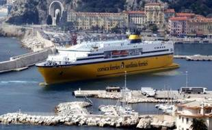 Un navire de la Corsica Ferries.