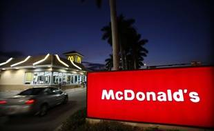 Un McDonald's a pris feu en Moselle ce samedi soir. Illustration