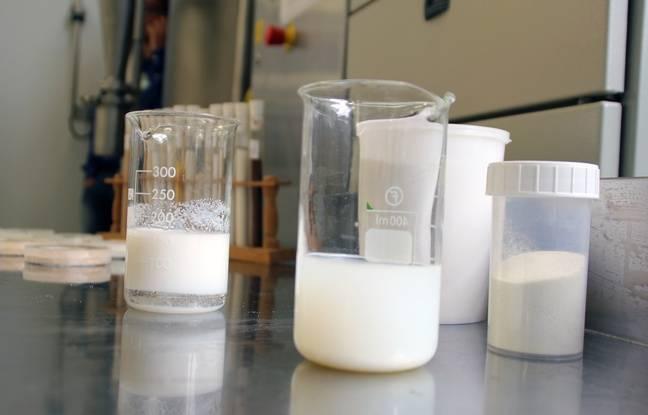 A Rennes, l'INRA dispose d'une plateforme lait permettant de créer toutes sortes de produits laitiers.