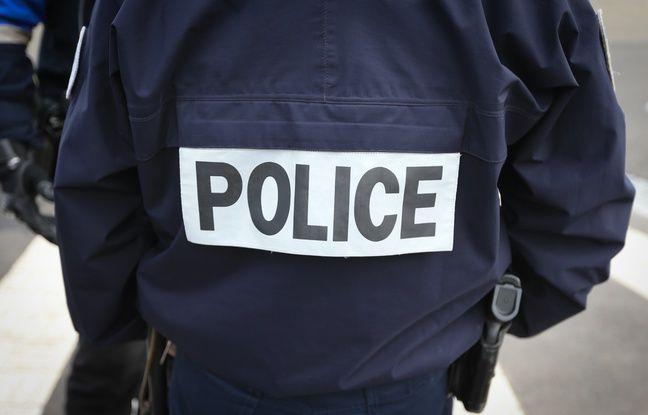 Un fonctionnaire de la police nationale. Illustration.