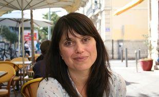Ramona Badescu à Marseille, où l'auteur vit.